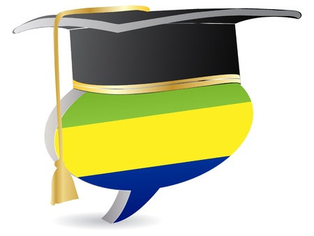 gabon: gabon flag graduation
