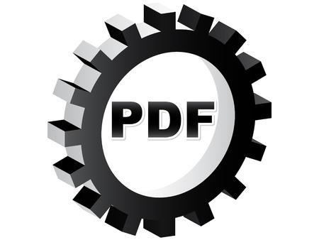 pdf format Stock Vector - 10450762