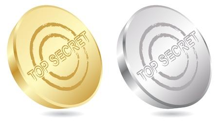top secret stamp  Stock Vector - 10451121
