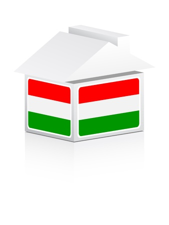 house of hungary Vector