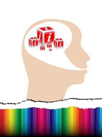 informer: information concept Illustration