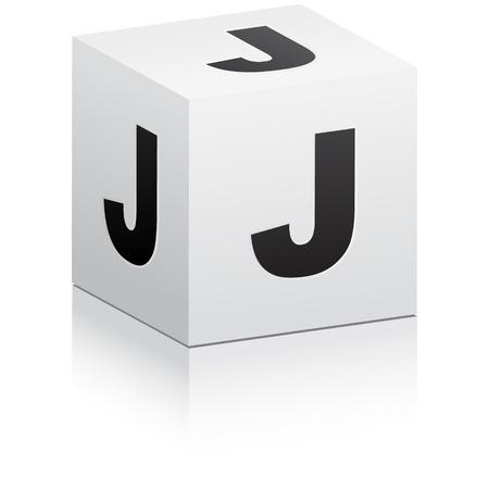 j: letter j Illustration