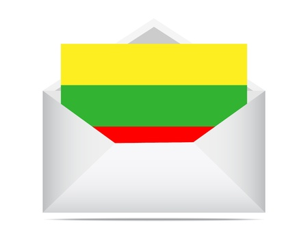 letter of lithuania Stock Vector - 10450834