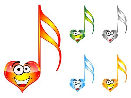 song of love Vector