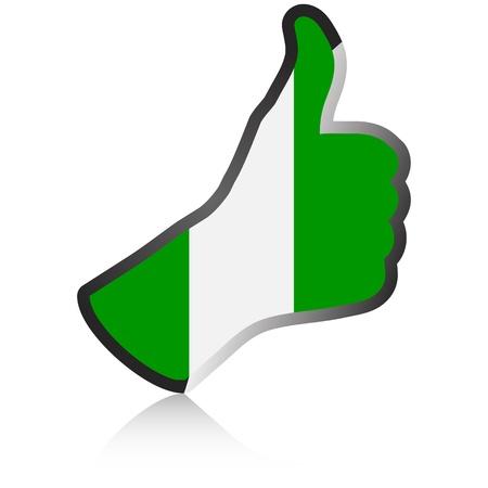 accomplish: nigerian hand giving ok