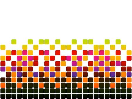 photo printer: pixels Illustration