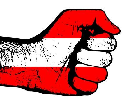 austrian: austrian fist