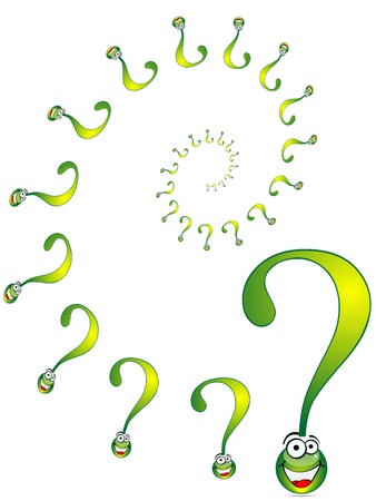 question formation Stock Vector - 10451539