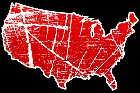 perimeter: american map