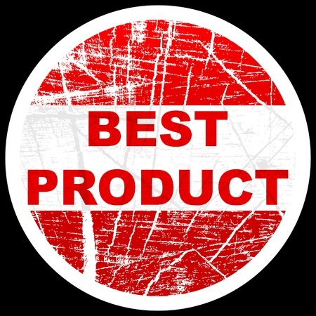 best product stamp Vector