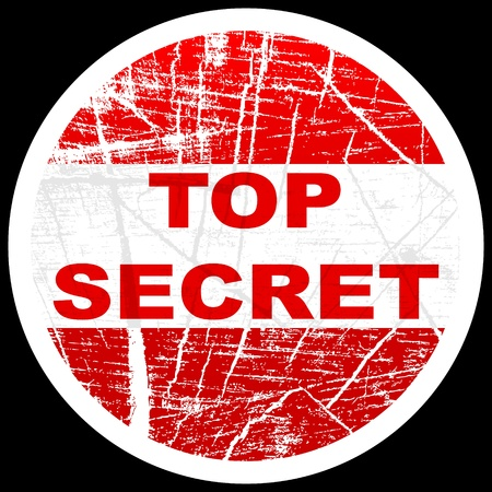 classified: top secret stamp