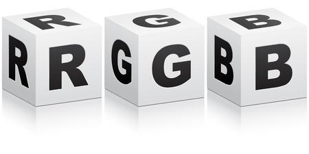rgb: RGB colors  Illustration