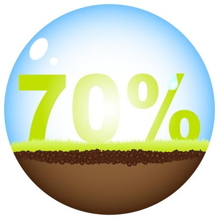 seventy: 70 per cento di sconto