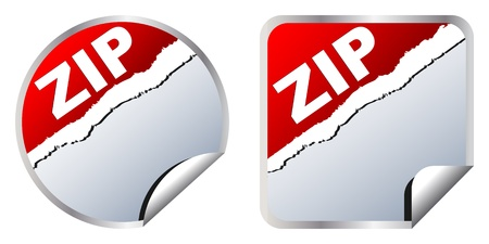 spoil: zip format Illustration