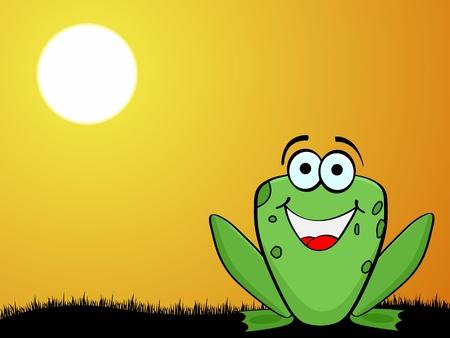 crazy frog Vector