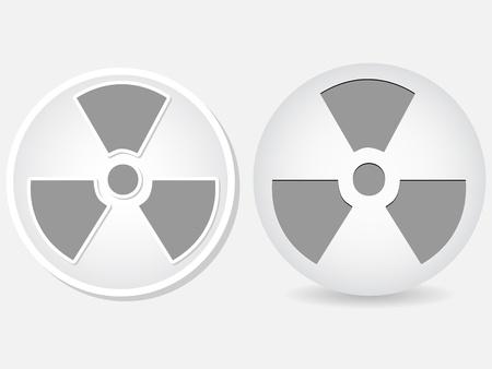 radiation icon  Stock Vector - 10450584