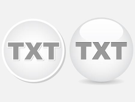 txt: txt format Illustration