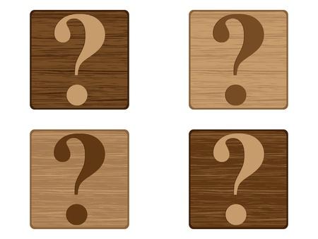 question button Stock Vector - 10450988