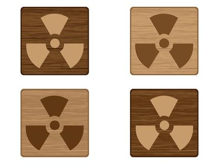radiation icon  Stock Vector - 10450982