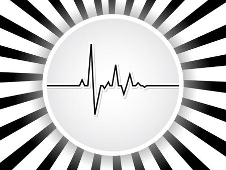 heart pulse  Stock Vector - 10471062