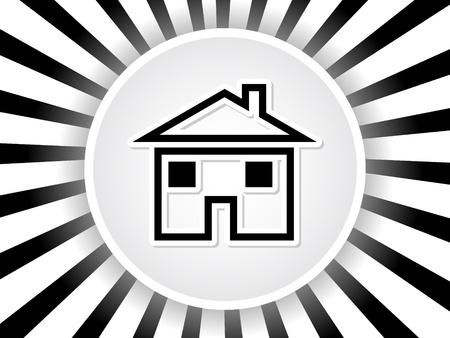 home Stock Vector - 10471060