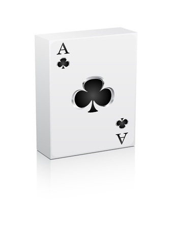 games card ace Vector