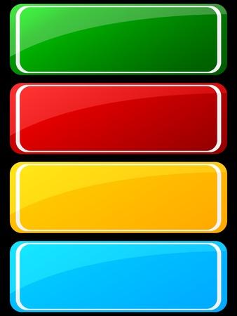 web buttons Stock Vector - 10466939
