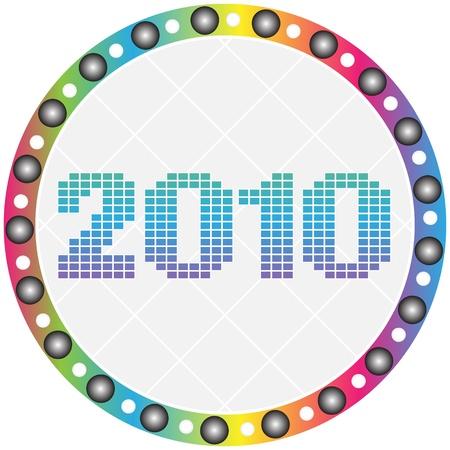 agenda browse: 2010 year button