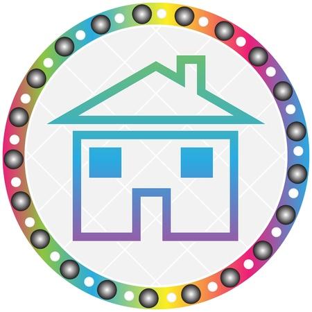 home button Stock Vector - 10466804