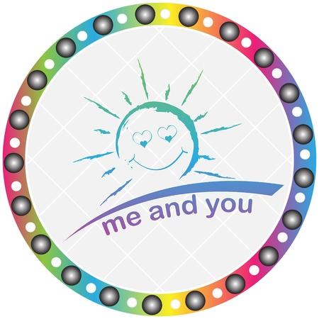 we love the sun Stock Vector - 10471262