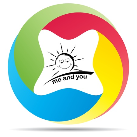 we love the sun Stock Vector - 10466684