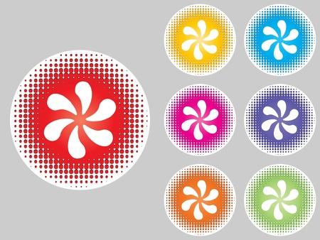 ventilator: Fan buttons