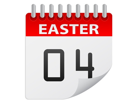 schedulers: easter day Illustration