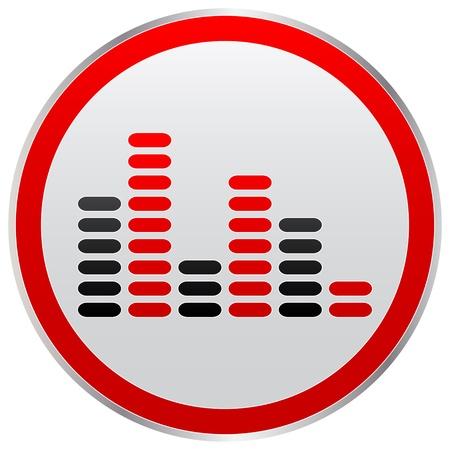 musical button