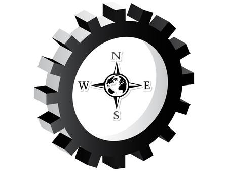 Compass pulsante