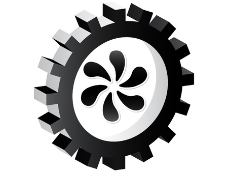 mechanical ventilation: Fan button  Illustration