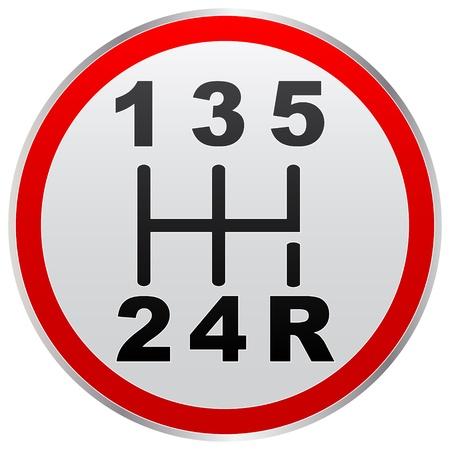 hendel snelheid Vector Illustratie