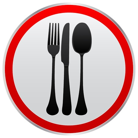 knife and fork: Fork knife spoon icon
