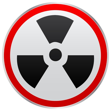 radiation icon Stock Vector - 10465963