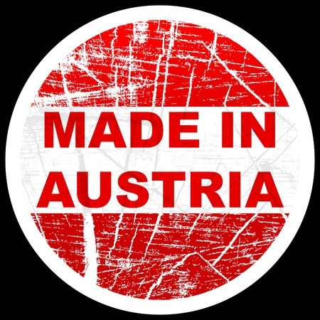 made in austria Stock Vector - 10471736