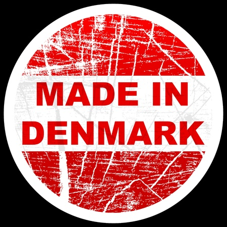 made in denmark Vector