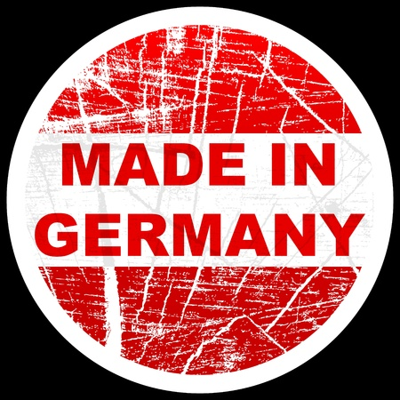 made in germany Stock Vector - 10471731