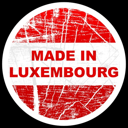 made in luxembourg Vector