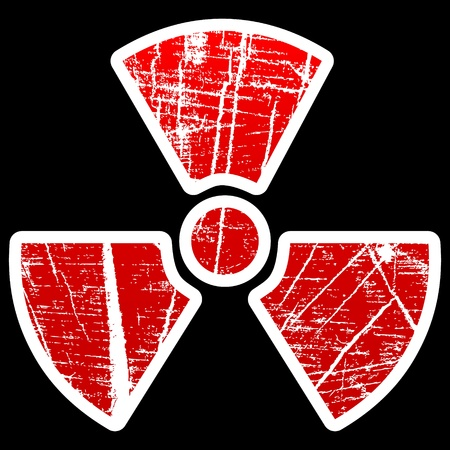 radiation icon Stock Vector - 10471479