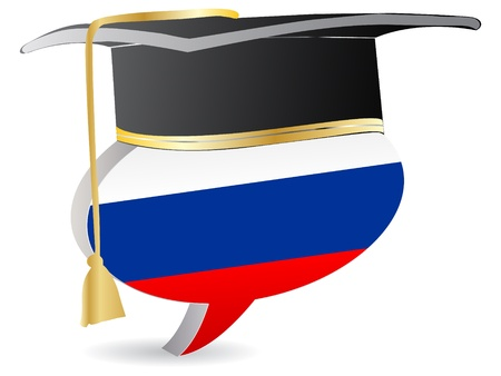 russian graduation  Stock Vector - 10471055