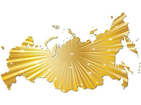 perimeter: map of russia