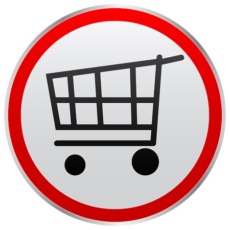 pushcart: cart button