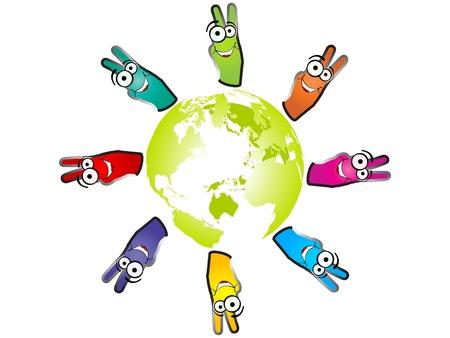 work worker workforce world: victory of world