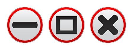 web button Stock Vector - 10465869