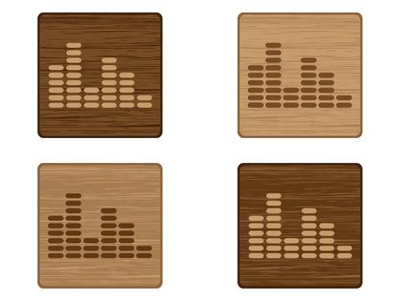musical button  Vector